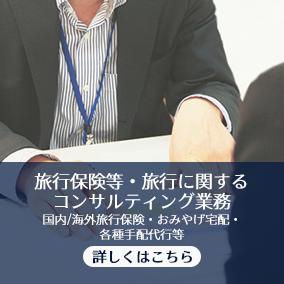 旅行保険等・旅行に関するコンサルティング業務
